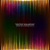 Achtergrond van neon de vectorlichten Stock Foto's