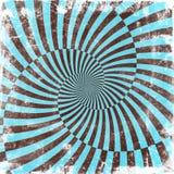 Achtergrond van oneindigheids de spiraalvormige grunge Stock Illustratie