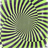 Achtergrond van oneindigheids de spiraalvormige grunge Vector Illustratie