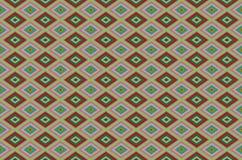 Achtergrond van onregelmatige kleurrijke motieven met vaste lijnen royalty-vrije illustratie