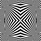 Achtergrond van ontwerp de zwart-wit convexe lijnen Stock Foto's