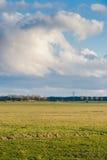 Achtergrond van onweerswolken na een onweersbui stock afbeelding