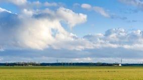 Achtergrond van onweerswolken na een onweersbui royalty-vrije stock foto