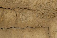 Achtergrond van oud verf en pleister Barsten en bellen stock afbeeldingen