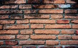 Achtergrond van oude bakstenen muur Stock Foto