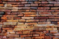 Achtergrond van oude bakstenen muur Royalty-vrije Stock Afbeeldingen