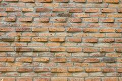 Achtergrond van oude bakstenen muur Stock Fotografie