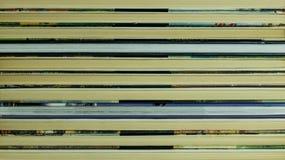 Achtergrond van oude boeken Stock Foto
