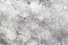 Achtergrond van oude cementmuur met barst stock afbeeldingen