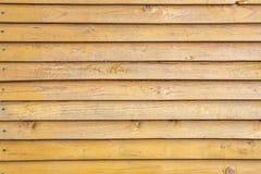 Achtergrond van oude geschilderde houten raad Stock Foto's