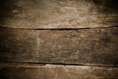 Achtergrond van oude geweven houten planken Stock Afbeelding