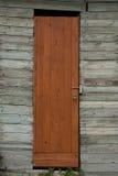 Achtergrond van oude muur met deur Royalty-vrije Stock Fotografie