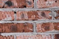Achtergrond van oude rode concrete baksteen, stock foto