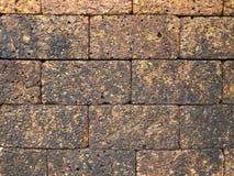Achtergrond van oude steenachtige muur Royalty-vrije Stock Afbeeldingen