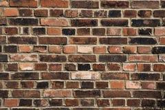 Achtergrond van oude uitstekende bakstenen muur Achtergrond van bakstenen muur t Stock Foto