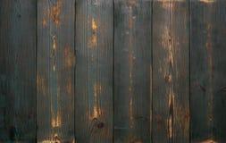 Achtergrond van oude uitstekende houten raad van groene kleur Sterk versleten en gekrast royalty-vrije stock afbeeldingen
