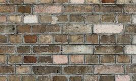 Achtergrond van oude uitstekende vuile bakstenen muur Royalty-vrije Stock Afbeeldingen