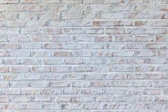 Achtergrond van oude uitstekende vuile bakstenen muur met schilpleister, royalty-vrije stock fotografie