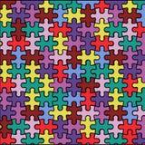 Achtergrond van raadsels vector illustratie