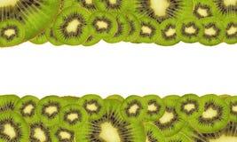 Achtergrond van rijpe kiwi Stock Fotografie