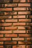 Achtergrond van rode bakstenen muur Stock Afbeelding