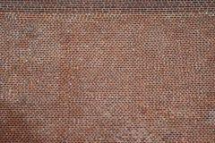 Achtergrond van rode bakstenen typisch van Vlaanderen stock afbeelding