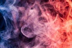 Achtergrond van rook vape stock foto's