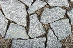 Achtergrond van rotsen Stock Fotografie