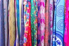 Achtergrond VAN sjaals Stock Afbeelding