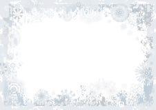 Achtergrond van sneeuwvlok, vector Stock Afbeeldingen
