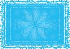 Achtergrond van sneeuwvlok, vectr royalty-vrije illustratie