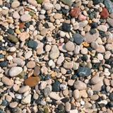 Achtergrond van steenkiezelstenen Stock Foto