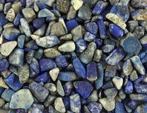 Achtergrond van steenlapis lazuli Royalty-vrije Stock Foto