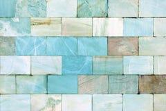 Achtergrond van tegels Muur van marmer Ongebruikelijke steentextuur Stock Afbeelding