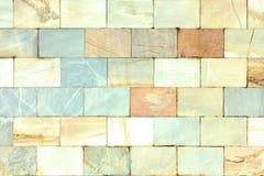 Achtergrond van tegels Ongebruikelijke steentextuur Muur van marmer Royalty-vrije Stock Foto