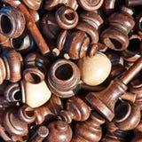 Achtergrond van toebehoren voor gordijnen Stock Foto