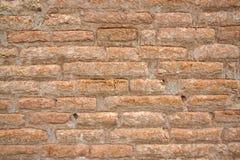 Achtergrond van uitstekende bakstenen muur Royalty-vrije Stock Foto's