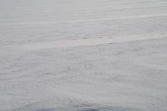 Achtergrond van vaste sneeuw in steppe 16 Stock Afbeelding