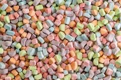 Achtergrond van veelvoudig multicolored suikergoed royalty-vrije stock afbeeldingen