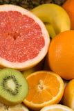Achtergrond van verse citrusvruchten Royalty-vrije Stock Fotografie