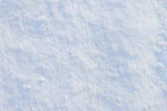 Achtergrond van verse sneeuw Stock Fotografie