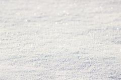 Achtergrond van verse sneeuw Royalty-vrije Stock Fotografie