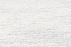 Achtergrond van verse sneeuw Royalty-vrije Stock Afbeeldingen