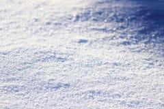 Achtergrond van verse sneeuw Royalty-vrije Stock Afbeelding