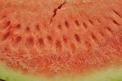 Achtergrond van watermeloenvlees royalty-vrije stock fotografie