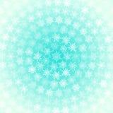 Achtergrond van Witte binnen Geschikte Sneeuwvlokken stock illustratie