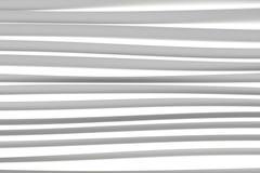 Achtergrond van witte 3d abstracte golven Stock Foto's
