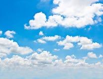 Achtergrond van wolk. Stock Fotografie