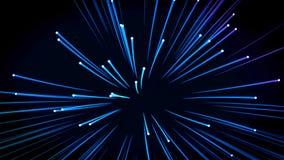 Achtergrond: vele optische vezels vector illustratie