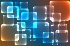 Achtergrond, verbazende kleurrijke vierkante textuur Stock Foto's